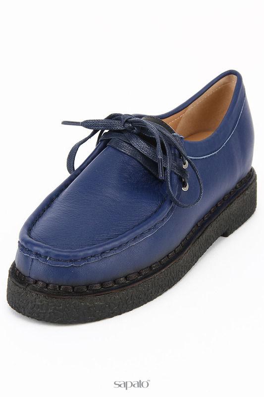 Ботинки Zumita Полуботинки синие