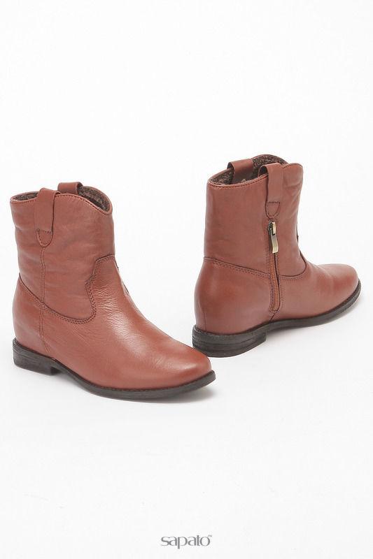 Ботинки STUDIO ITALIA Ботинки оранжевые