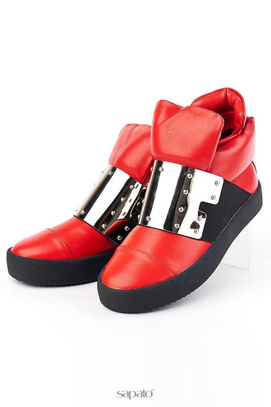 Ботинки Vita Ricca Ботинки красные