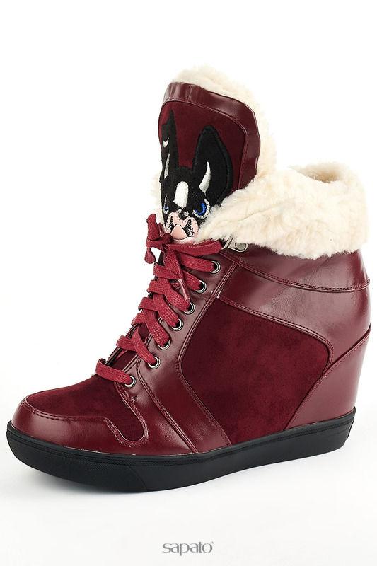 Ботинки Itemblack Ботинки красные