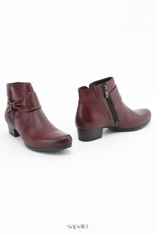 Ботинки Caprice Ботинки красные
