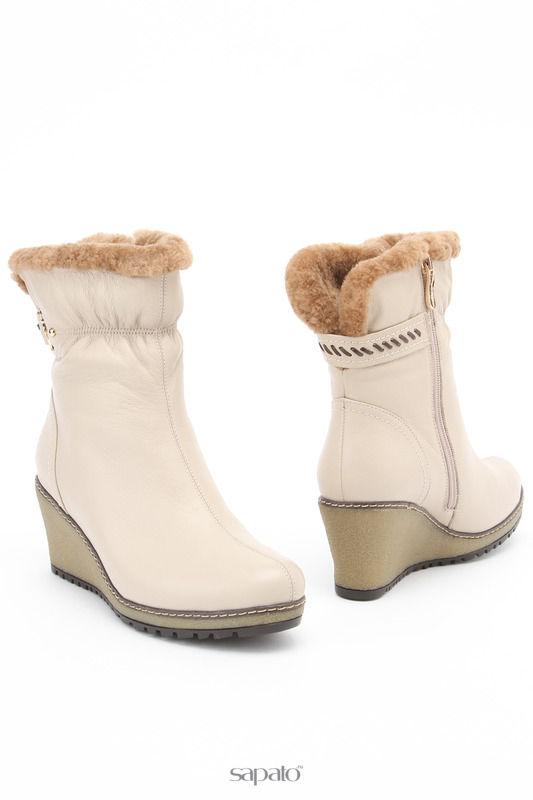 Ботинки Dino Ricci Ботинки бежевые