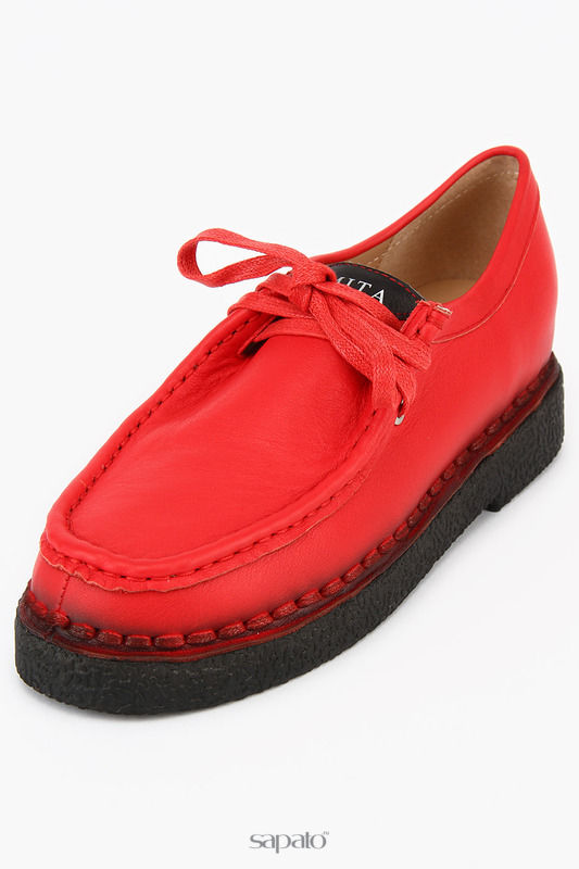 Ботинки Zumita Полуботинки красные