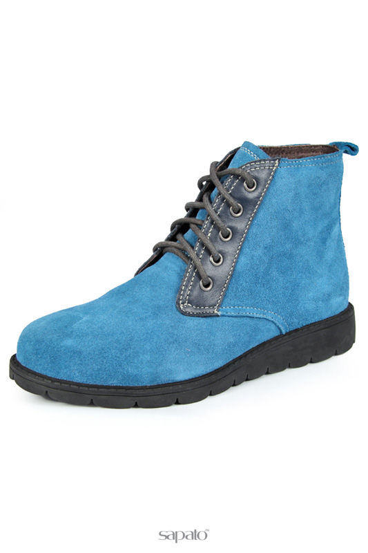 Ботинки Marko Ботинки голубые