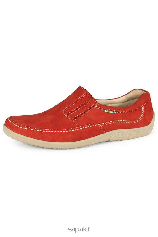 Ботинки Marko Полуботинки красные