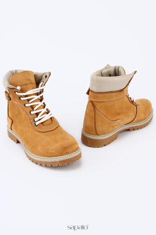 Ботинки Dino Ricci Ботинки жёлтые