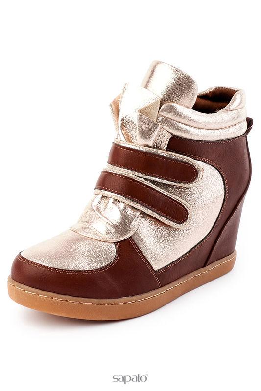 Ботинки Brocoli Ботинки коричневые