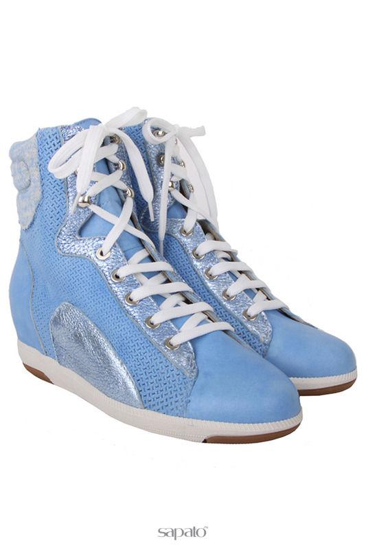Ботинки GIEMME Ботинки голубые