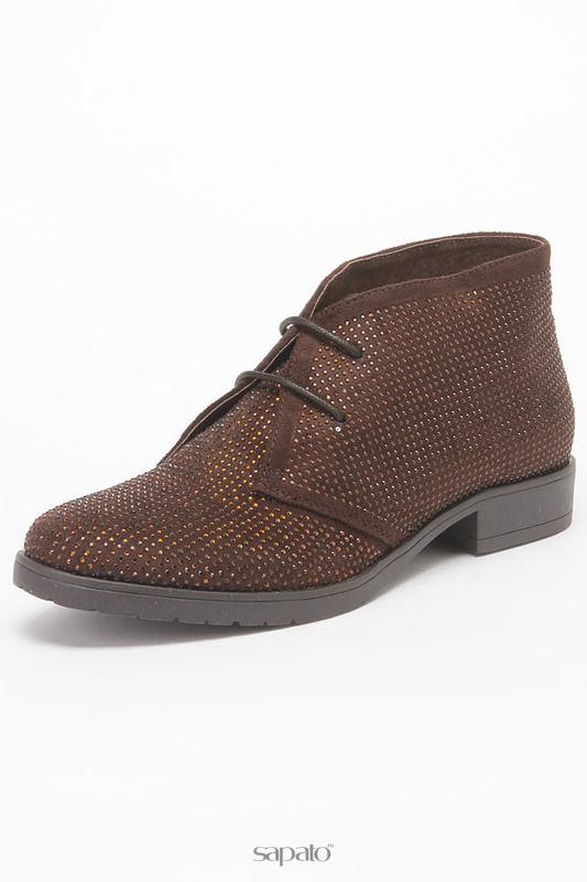 Ботинки STUDIO ITALIA Полуботинки коричневые