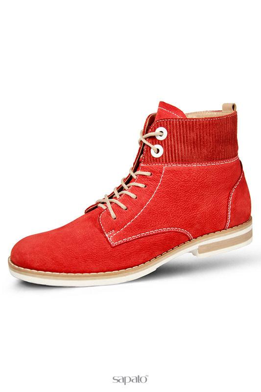 Ботинки Marko Ботинки женские красные