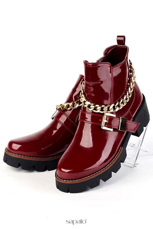 Ботинки Norka Ботинки красные