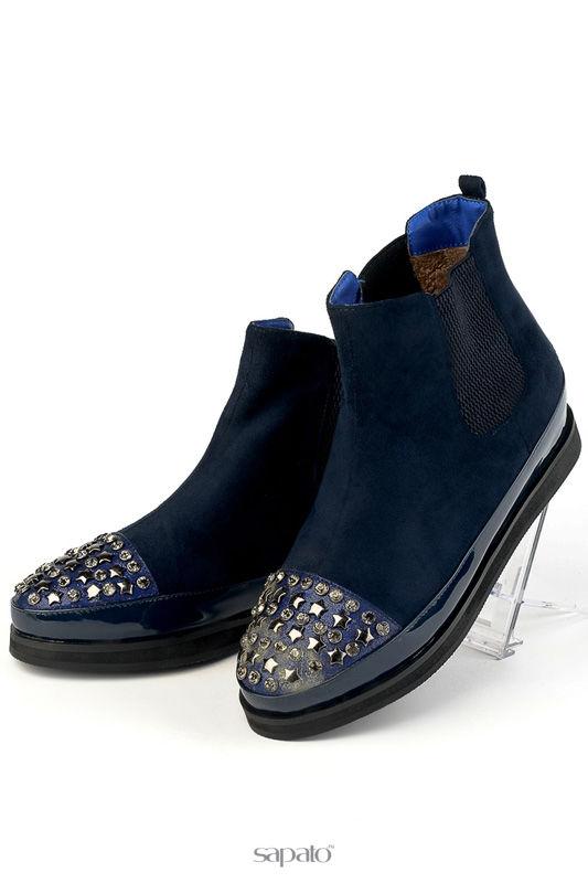 Ботинки Norka Ботинки синие