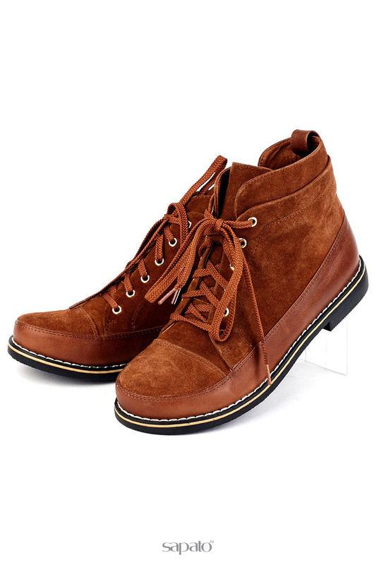 Ботинки Brocoli Ботинки оранжевые