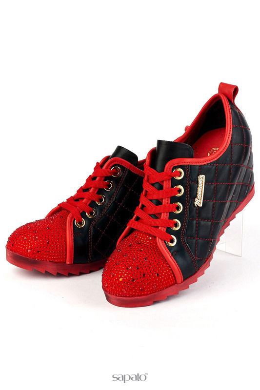 Ботинки MAMMAMIA Полуботинки красные
