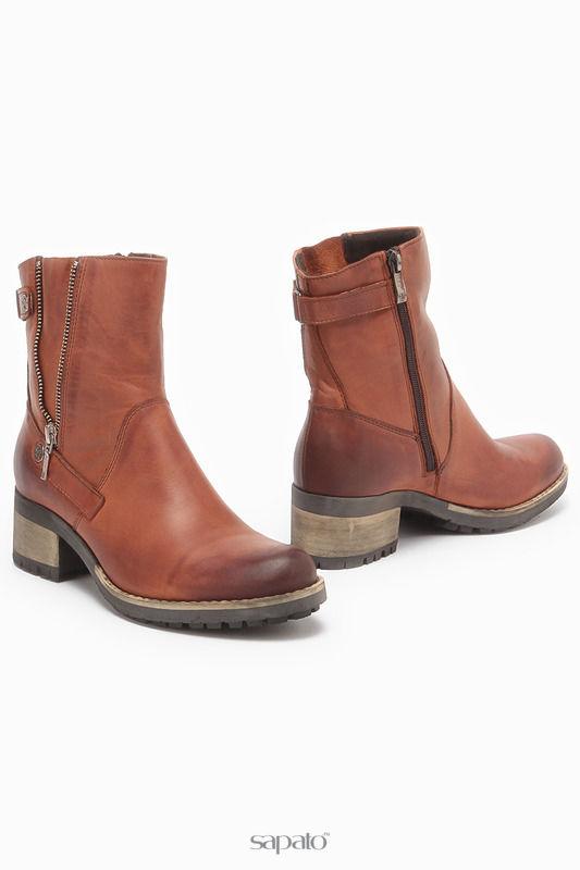 Ботинки CARINI Ботинки оранжевые