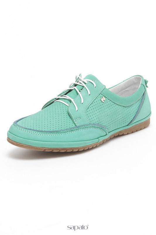 Ботинки Nik by Goergo Полуботинки зеленые