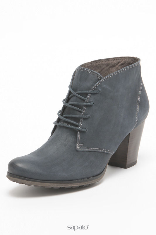 Ботинки Tamaris Ботинки синие