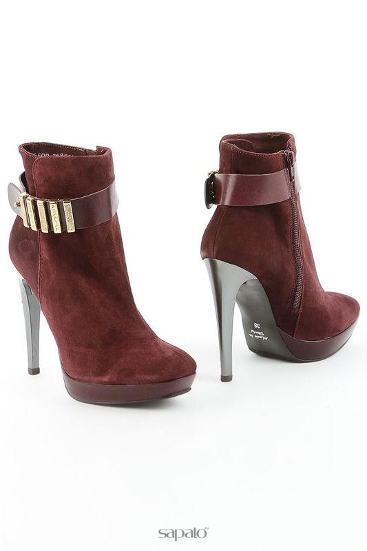 Сапоги Liska Ботинки красные