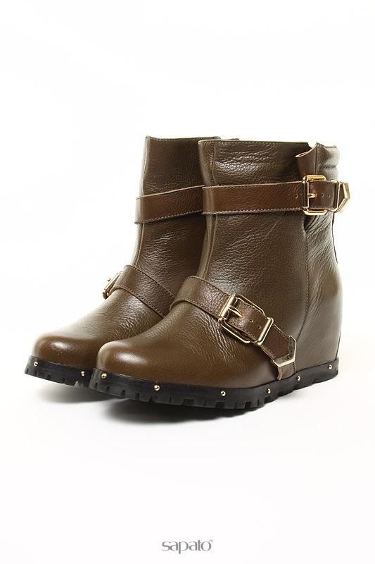 Ботинки Esdra Ботинки зеленые