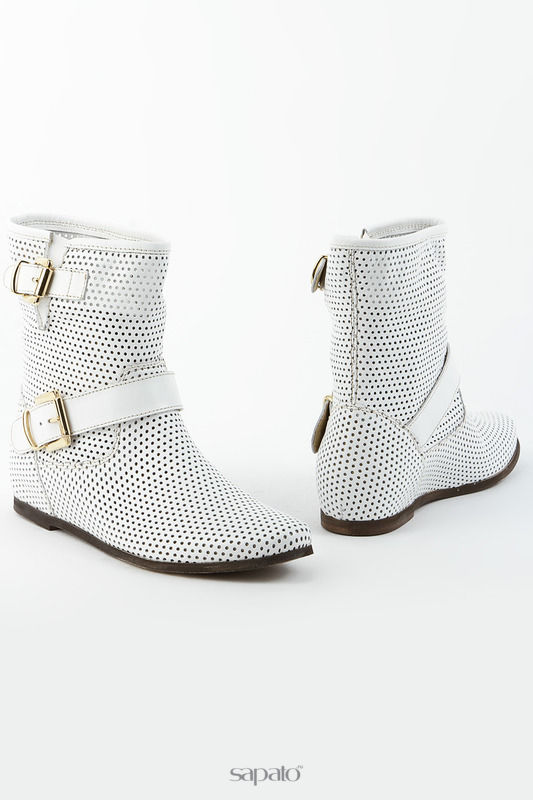 Ботинки SK Полуботинки белые