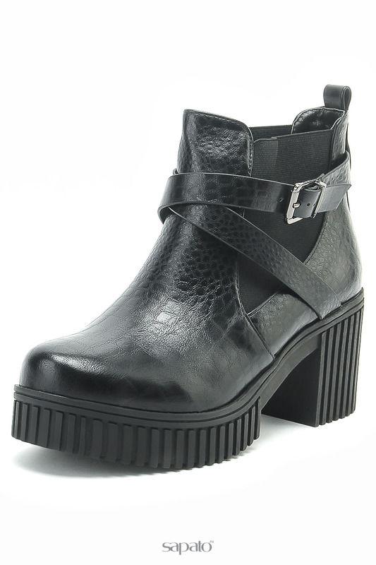 Ботинки STEFANIYA Ботинки женские чёрные