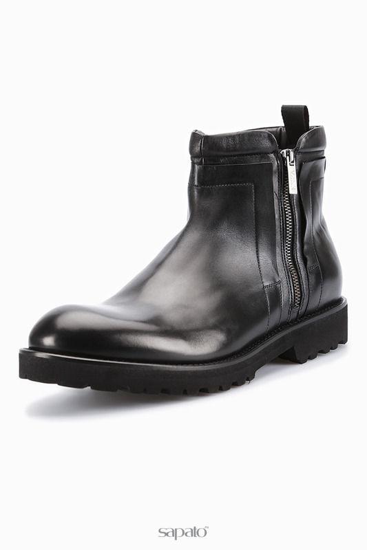 Ботинки Emporio Armani Ботинки чёрные