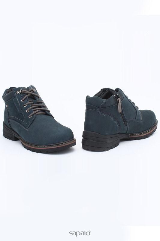 Ботинки Shoiberg Ботинки синие