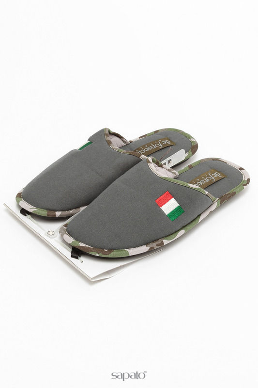 Домашняя обувь De Fonseca Тапочки зеленые