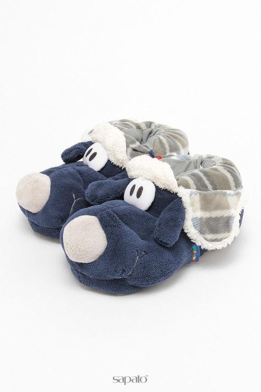 Домашняя обувь De Fonseca Тапочки синие