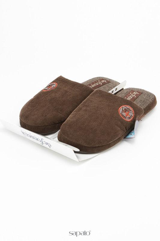 Домашняя обувь De Fonseca Тапочки коричневые