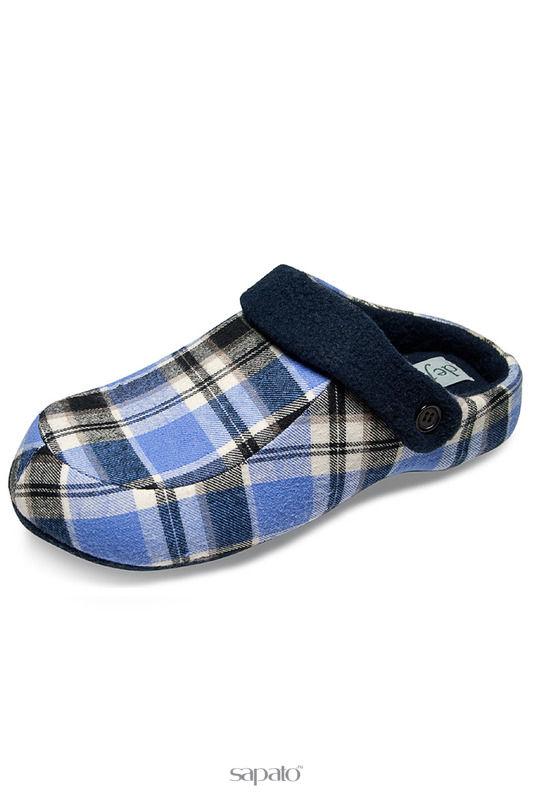 Домашняя обувь De Fonseca Тапочки голубые