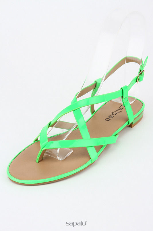Сандалии Calipso Сандалии зеленые
