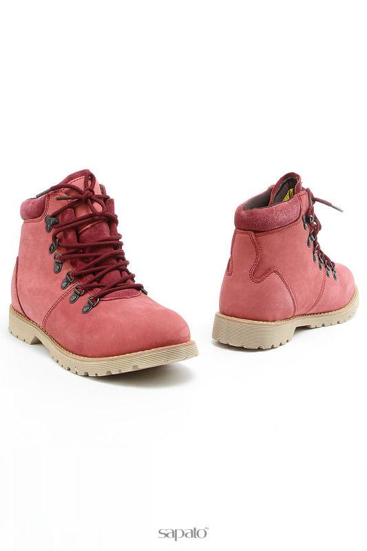 Ботинки CROSBY Ботинки красные