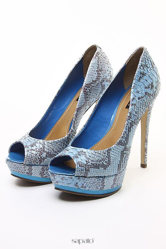 Туфли Dumond Туфли открытые синие