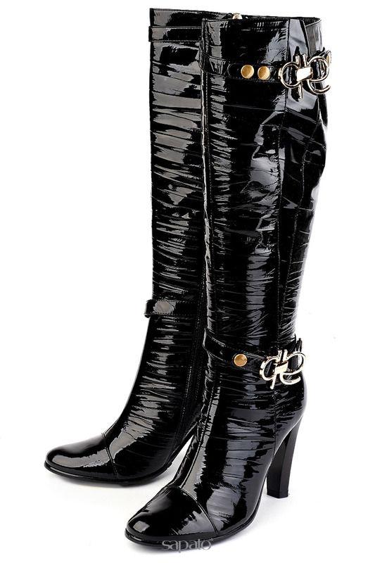 Сапоги Moda Donna Сапоги чёрные