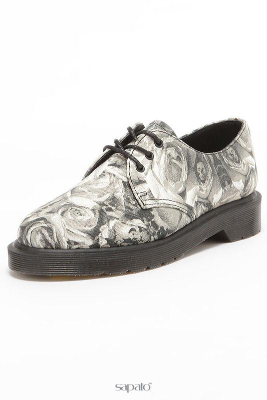 Ботинки Dr. Martens Полуботинки серые