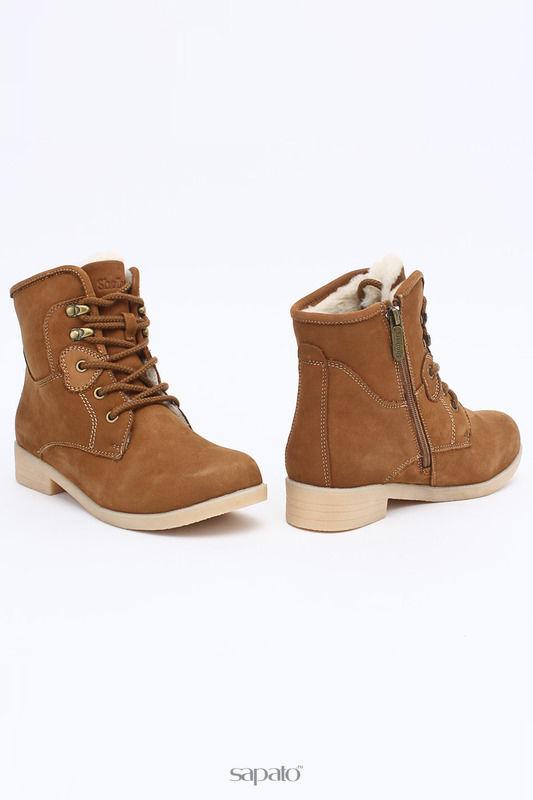 Ботинки Shoiberg Ботинки бежевые
