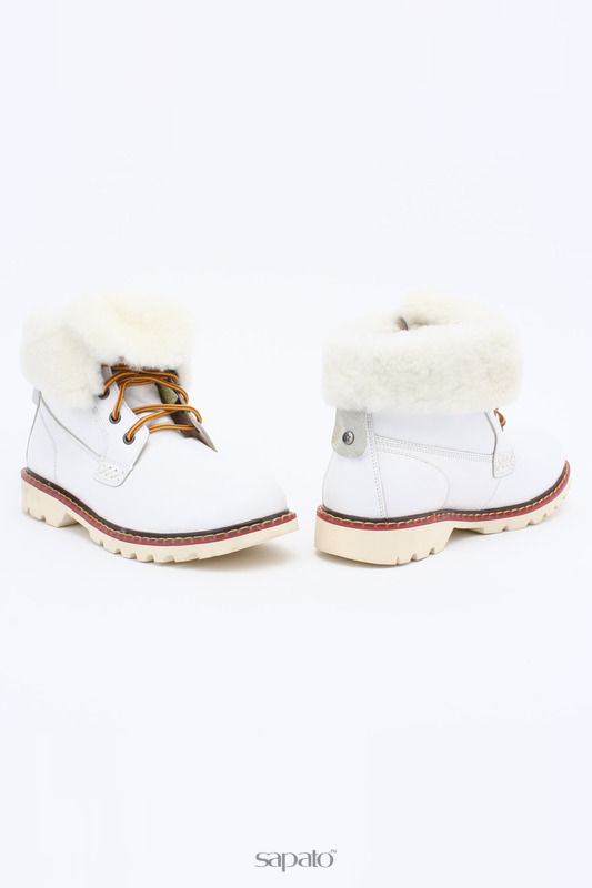 Ботинки Shoiberg Ботинки белые