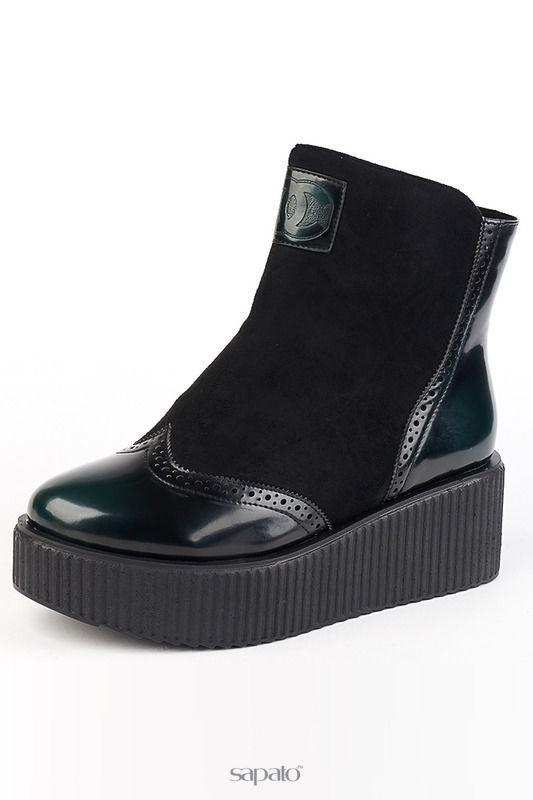 Ботинки Teet Space Ботинки зеленые