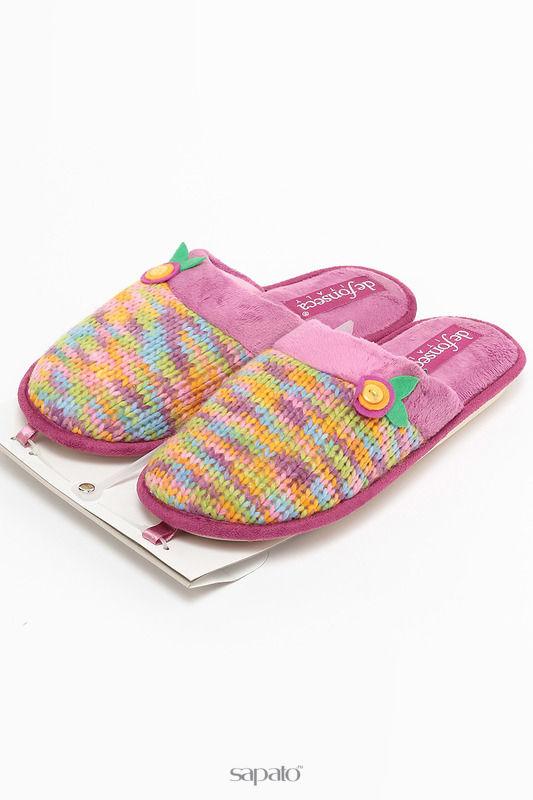 Домашняя обувь De Fonseca Тапочки розовые
