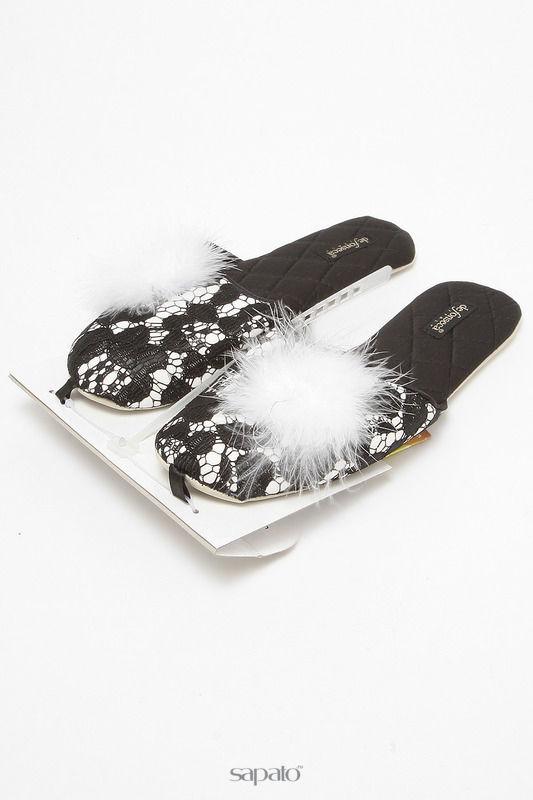 Домашняя обувь De Fonseca Тапочки белые