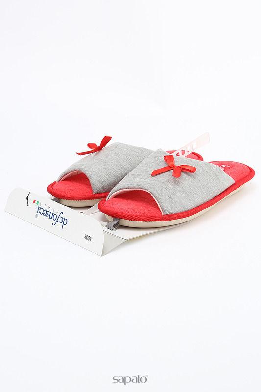 Домашняя обувь De Fonseca Тапочки красные
