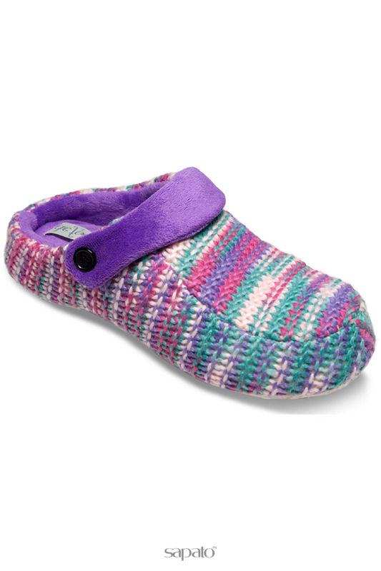Домашняя обувь De Fonseca Тапочки фиолетовые