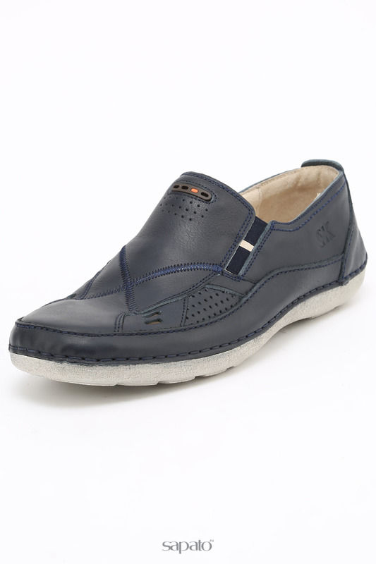 Ботинки SK Полуботинки синие