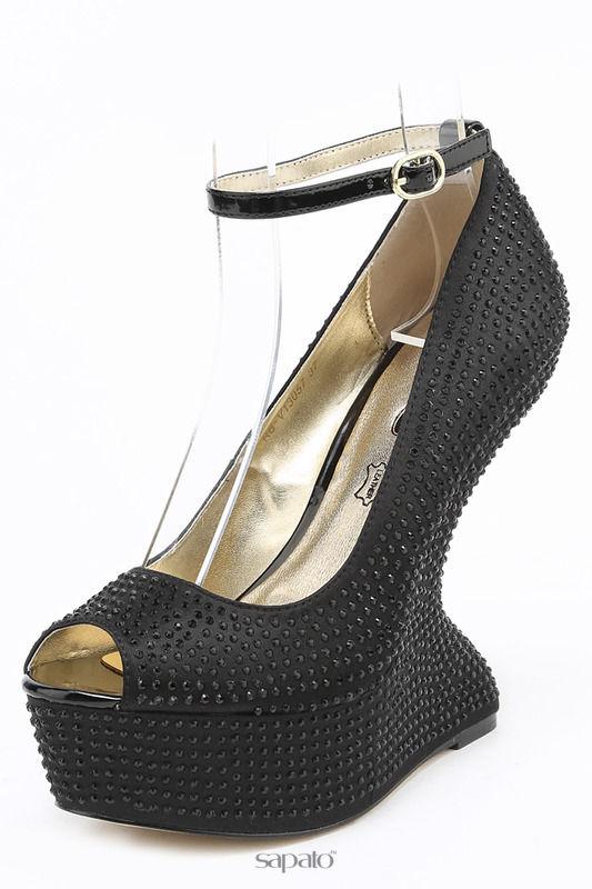 Туфли 1TO3 Туфли чёрные