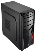 AeroCool V2X Red Edition 550W Red