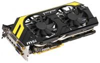 MSI Radeon HD 7970 1070Mhz PCI-E 3.0 3072Mb 5600Mhz 384 bit 2xDVI HDCP