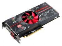 XFX Radeon HD 5870 850Mhz PCI-E 2.1 1024Mb 4800MHz 256 bit 2xDVI HDMI HDCP Cool