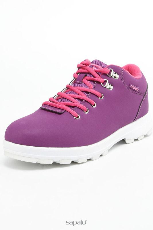 Ботинки CROSBY Полуботинки фиолетовые