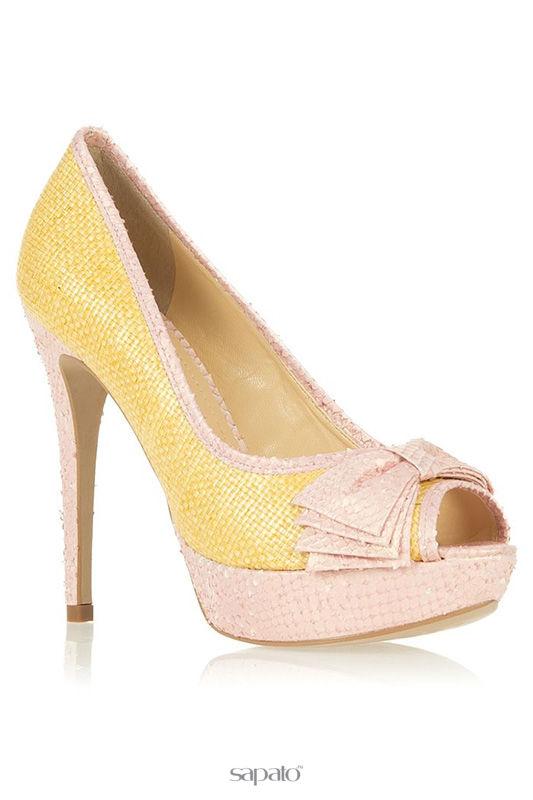 Туфли Werner Туфли жёлтые